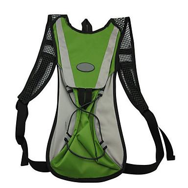 10 L Retkeilyreput Pyöräily Reppu Backpack Kiipeily Vapaa-ajan urheilu Pyöräily/Pyörä Retkeily ja vaellusVedenkestävä Hengittävä