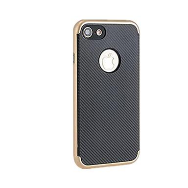 Için Kaplama Pouzdro Arka Kılıf Pouzdro Solid Renkli Yumuşak TPU için Apple iPhone 7 Plus / iPhone 7 / iPhone 6s Plus/6 Plus / iPhone 6s/6