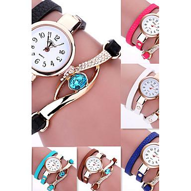 Dámské Náramkové hodinky Křemenný Černá   Bílá   Modrá Žhavá sleva    Analogové dámy Květina Cikánské 4ccbef6b8b