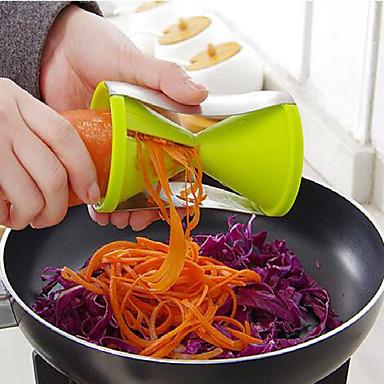 kuchnia Filar wielofunkcyjny przyrząd do cięcia drutu spirali stożek obraca Shred 7 * 13cm