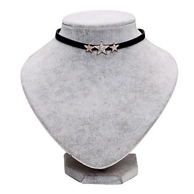 Κολιέ Κολιέ Τσόκερ Κοσμήματα Γενέθλια / Καθημερινά / Causal / Χριστουγεννιάτικα δώρα Βασικό Δερμάτινο Άντρες 1pc Δώρο Μαύρο
