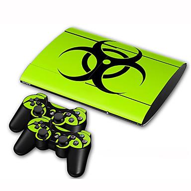 お買い得  PS3 用アクセサリー-B-SKIN B-SKIN ステッカー 用途 Sony PS3 、 アイデアジュェリー ステッカー ビニール 1 pcs 単位