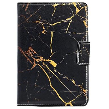 Na Z podpórką / Magnetyczne Kılıf Futerał Kılıf Marmur Twarde Skóra PU na Apple iPad Mini 4 / iPad Mini 3/2/1