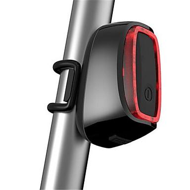 자전거 후미등 안전 반사경 LED LED 싸이클링 센서 충전식 방수 컴팩트 사이즈 USB 루멘 USB 색상-변화 일상용 사이클링 멀티기능