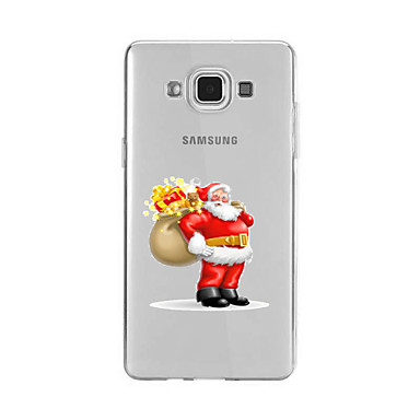 Pouzdro Uyumluluk Samsung Galaxy A5(2016) A3(2016) Temalı Arka Kılıf Noel Yumuşak TPU için A9(2016) A7(2016) A5(2016) A3(2016) A9 A8 A7