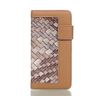 tok Για Samsung Galaxy S7 edge S7 Πορτοφόλι Θήκη καρτών με βάση στήριξης Ανοιγόμενη Πλήρης κάλυψη Γραμμές / Κύματα Σκληρή PU Δέρμα για S7