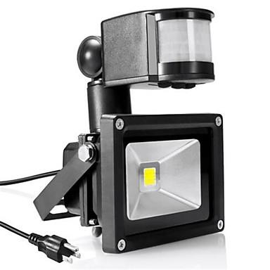 LED projektorok Érzékelő Hordozható Könnyű beszerelni Vízálló Kültéri világítás Garázs/parkoló Meleg fehér Hideg fehér AC 85-265V