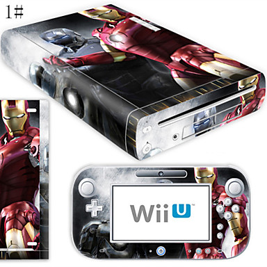 B-SKIN Audio en Video Sticker - Wii U Nintendo Wii U Noviteit Draadloos 1-3h