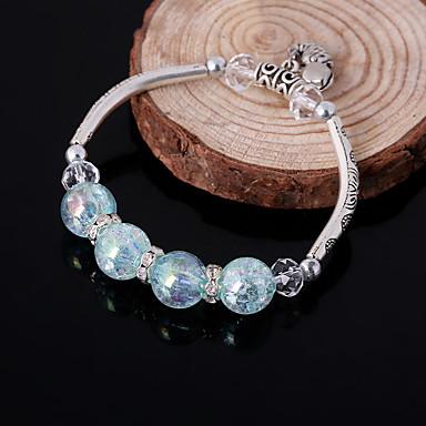 Femme Chaînes & Bracelets Charmes pour Bracelets Bracelets de rive Personnalisé Mode Perlé Alliage Autres Bijoux Quotidien Décontracté