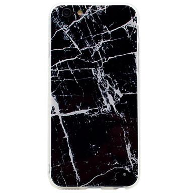 Pouzdro Uyumluluk Apple iPhone 7 iPhone 7 Plus iPhone 6 Temalı Arka Kılıf Mermer Yumuşak Akrilik için iPhone 7 Plus iPhone 7 iPhone 6s
