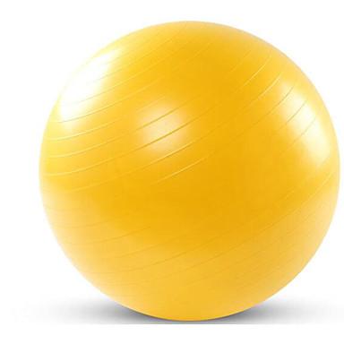 75cm Egzersiz Topu Fitness Topu Antikayma Ayarlanabilir Kalın boyun Egzersiz Antreman Yoga Fitness Jimnastik Eğitim Denge Plastik