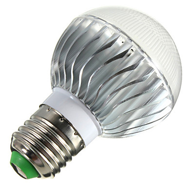 E14 B22 E26/E27 LED 글로브 전구 B 3 LED가 고성능 LED 밝기조절가능 리모컨 작동 장식 RGB 400lm 2800-6500K AC 85-265V