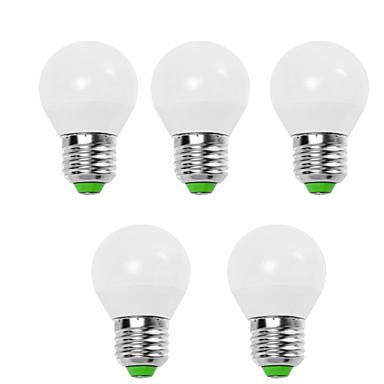 Недорогие Светодиодные электролампы-EXUP® 5 шт. 9 W Круглые LED лампы 900 lm E14 E26 / E27 G45 12 Светодиодные бусины SMD 2835 Декоративная Тёплый белый Холодный белый 220-240 V 110-130 V / RoHs / CE / CCC / ERP / LVD