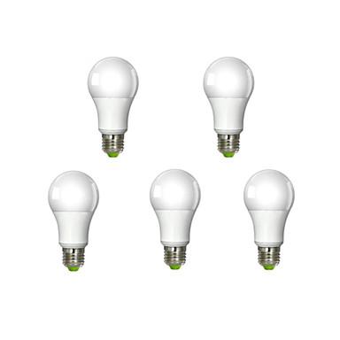 E26/E27 Lâmpada Redonda LED A60(A19) 1 leds COB Regulável Branco Quente 1320lm 3000K AC 220-240V