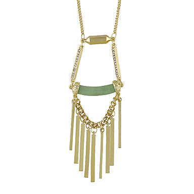 نساء قلائد الحلي مجوهرات سبيكة تصميم بسيط ذهبي مجوهرات إلى يوميا فضفاض 1PC