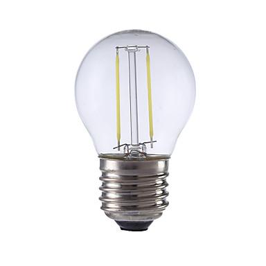 E26/E27 Żarówka dekoracyjna LED P45 2 Diody lED COB Ciepła biel Zimna biel 250lm 6500/2700K AC 220-240V