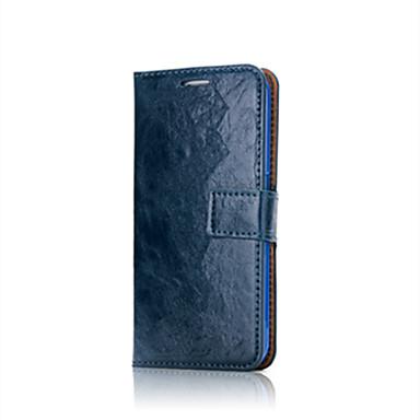 Etui Käyttötarkoitus Samsung Galaxy S8 Plus S8 Lomapkko Korttikotelo Kokonaan peittävä Yhtenäinen väri Pehmeä Nahka varten S8 S8 Plus S7