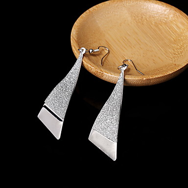 Damla Küpeler Mücevher alaşım Altın Gümüş Mücevher Için Düğün Parti Günlük 1 çift