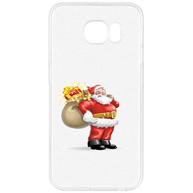 tok Για Samsung Galaxy S7 edge S7 Με σχέδια Πίσω Κάλυμμα Χριστούγεννα Μαλακή TPU για S7 edge S7 S6 edge plus S6 edge S6 S5 Mini S5 S4