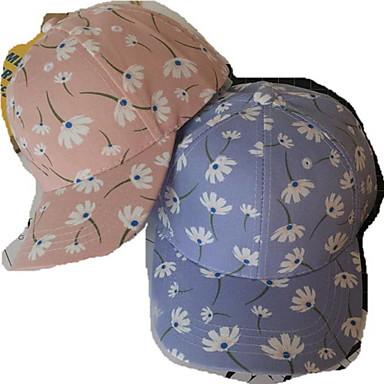 Kapak Şapka Sıcak Tutma Rahat için Beyzbol Çiçek/Botanik Pamuklu