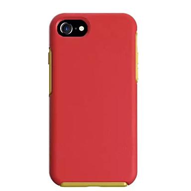Mert Ütésálló / Porálló Case Hátlap Case Egyszínű Kemény PC Apple iPhone 7 Plus / iPhone 7 / iPhone 6s Plus/6 Plus / iPhone 6s/6