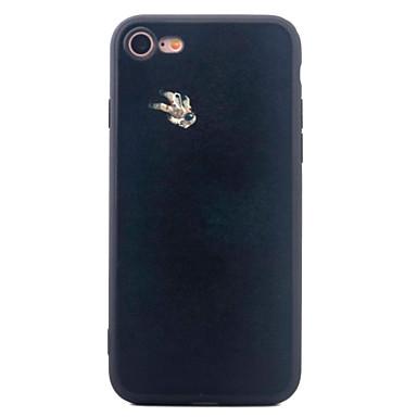 Kılıf Na iPhone 7 Plus iPhone 7 iPhone 6s Plus iPhone 6 Plus iPhone 6s iPhone 6 Apple iPhone 6 iPhone 7 Plus iPhone 7 Wzór Czarne etui