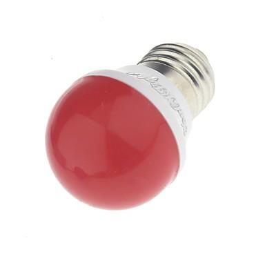 YouOKLight 3W 240lm E26 / E27 Oświetlenie dekoracyjne A60(A19) 6 Koraliki LED SMD 2835 Dekoracyjna Zielony Żółty Niebieski Czerwony