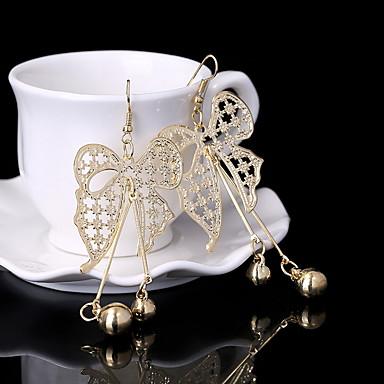 Kolczyki wiszące Biżuteria Stop Gold Silver Biżuteria Na Ślub Impreza Codzienny Casual 1 para