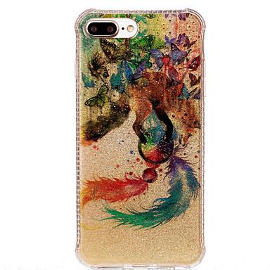 케이스 제품 Apple IMD 패턴 뒷면 커버 포수 드림 소프트 TPU 용 아이폰 7 플러스 아이폰 (7) iPhone 6s Plus iPhone 6 Plus iPhone 6s 아이폰 6 iPhone SE/5s iPhone 5