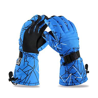 Kayak Eldiven Kış Eldivenleri Erkek Aktivite / Spor Eldivenleri Sıcak Tutma / Anti-kayma / Su Geçirmez / Kara DayanıklıKayakçılık / Kamp