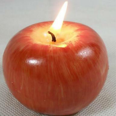 Boże Narodzenie symulacji procesu formowania owoców jabłoni świece