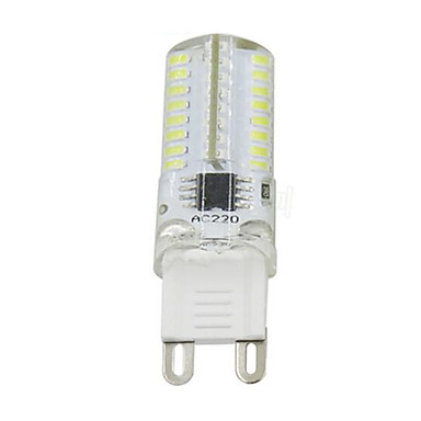 3W 280-300 lm G9 LED Bi-pin Lights T 64 leds SMD 3014 Dimmable Warm White Cold White AC110 AC220 AC 85-265V