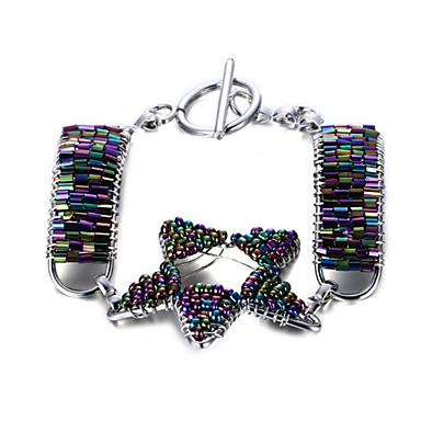 Damskie Bransoletki i łańcuszki na rękę Modny Bohemia Style Osobiste Biżuteria Stop Star Shape Biżuteria Na Codzienny Casual 1szt
