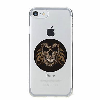 Varten Kuvio Etui Takakuori Etui Pääkallo Pehmeä TPU varten AppleiPhone 7 Plus / iPhone 7 / iPhone 6s Plus/6 Plus / iPhone 6s/6 / iPhone