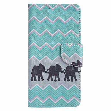 tok Για Samsung Galaxy J7 Prime J5 Prime Θήκη καρτών Πορτοφόλι με βάση στήριξης Πλήρης Θήκη Ελέφαντας Σκληρή PU δέρμα για J7 Prime J5