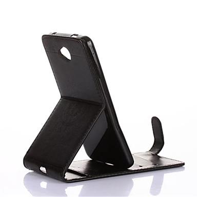 Kılıf Na Nokia Lumia 630 Nokia Lumia 640 Nokia Etui na karty Z podpórką Flip Magnetyczne Wytłaczany wzór Pełne etui Mandala Twarde Skóra