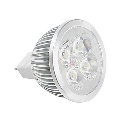 400-450 lm GU5.3(MR16) Żarówki punktowe LED MR16 Diody lED High Power LED Ciepła biel Zimna biel DC 12V AC 85-265V
