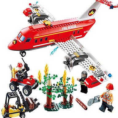 Aksiyon Figürleri ve Doldurulmuş Hayvanlar Legolar Eğitici Oyuncak Oyuncaklar Hava Aracı Forklift Genç Erkek Genç Kız Parçalar