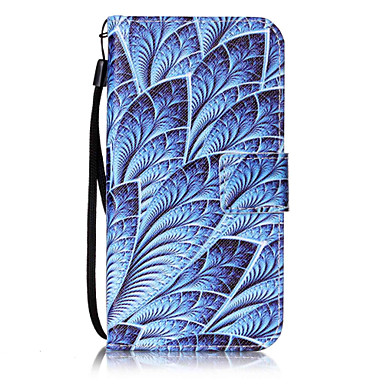 Etui Käyttötarkoitus Samsung Galaxy S7 edge S7 Korttikotelo Lomapkko Flip Kuvio Kokonaan peittävä Kukka Kova PU-nahka varten S7 edge S7