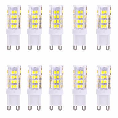 YWXLIGHT® 10pcs 350-450lm G9 Żarówki LED bi-pin T 51 Koraliki LED SMD 2835 Dekoracyjna Ciepła biel Zimna biel 220-240V