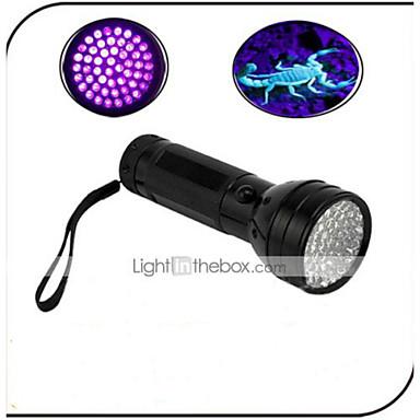 On-Off LED zseblámpák LED 100lm 1 világítás mód Vízálló / Hamisított Detector / Az ultraibolya fény Mindennapokra / Utazás
