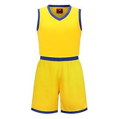 Ανδρικά Παιδικό Αμάνικο Αθλήματα Αναψυχής Μπάντμιντον Μπάσκετ Τρέξιμο Σετ Ρούχων Φαρδιά σορτς Γρήγορο Στέγνωμα Αναπνέει