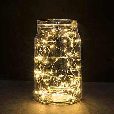 30 led miedziane druty światła 3m światła sznurek na Boże Narodzenie Festiwal Światła wesele lub dekoracji wnętrz lampy