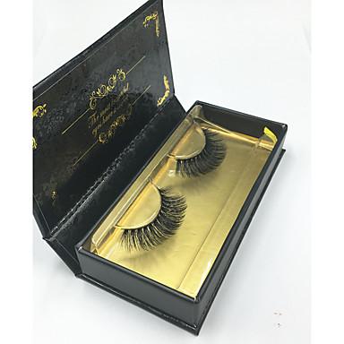 رموش العين رمش رموش اصطناعية خط كامل عيون تصالب سميك الرموش المرتفعة Volumized مصنوع يدوي ألياف Black Band 0.07mm 14mm