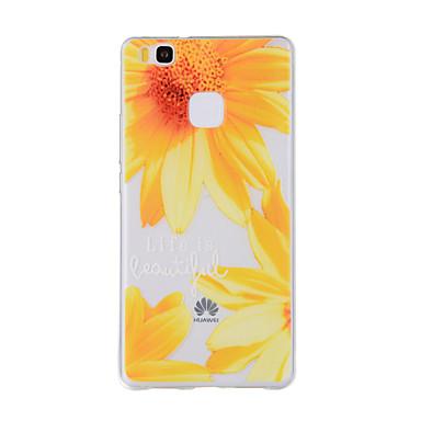 Για Με σχέδια tok Πίσω Κάλυμμα tok Λουλούδι Μαλακή TPU για HuaweiHuawei P9 / Huawei P9 Lite / Huawei P8 / Huawei P8 Lite / Huawei Y635 /