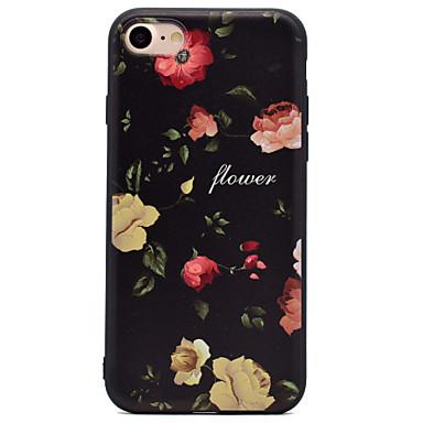 tok Για Apple iPhone 7 iPhone 6 Θήκη iPhone 5 Με σχέδια Πίσω Κάλυμμα Λουλούδι Μαλακή TPU για iPhone 7 Plus iPhone 7 iPhone 6s Plus iPhone