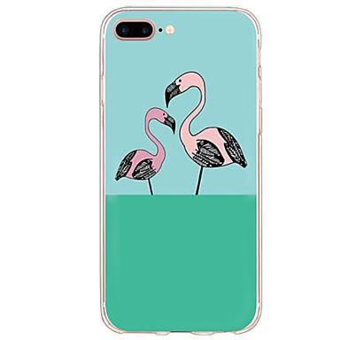 Na Ultra cienkie / Półprzezroczyste Kılıf Etui na tył Kılıf Kreskówka Miękkie TPU na AppleiPhone 7 Plus / iPhone 7 / iPhone 6s Plus/6