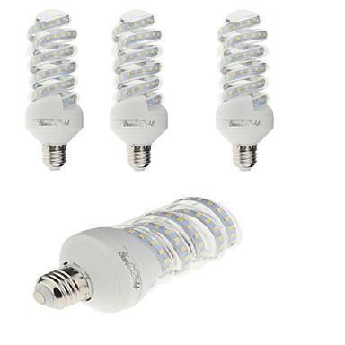 YouOKLight 4kpl 1800lm E26 / E27 LED-maissilamput T 47 LED-helmet SMD 2835 Koristeltu Lämmin valkoinen / Kylmä valkoinen 220-240V / 4 kpl