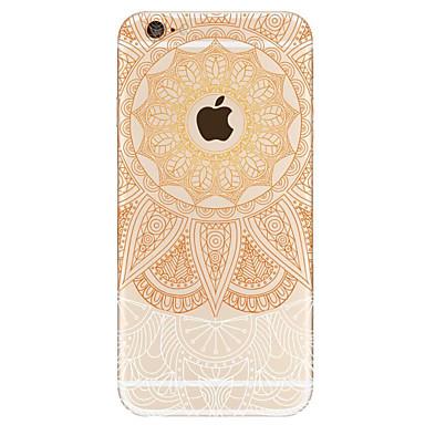 Uyumluluk iPhone 7 iPhone 6 Kılıflar Kapaklar Temalı Arka Kılıf Pouzdro Mandala Sert Akrilik için Apple iPhone 7 iPhone 6s iphone 6