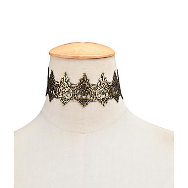 نساء قلادات ضيقة مجوهرات Flower Shape دانتيل شخصية موضة مجوهرات من أجل حزب عيد ميلاد يوميا فضفاض هدايا عيد الميلاد